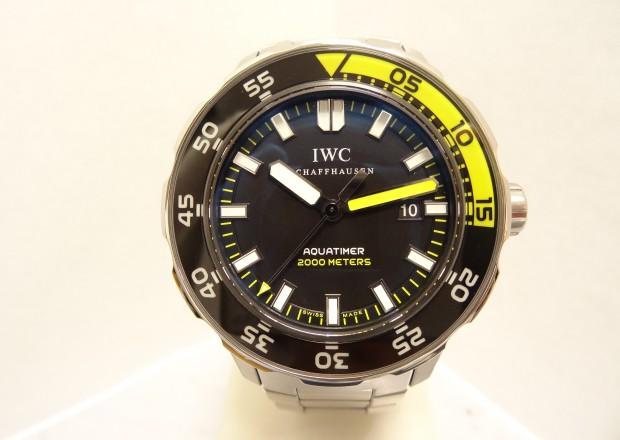IWC アクアタイマーオートマチック2000 オーバーホール・仕上・ゼンマイゼンマイ、3・4番車交換
