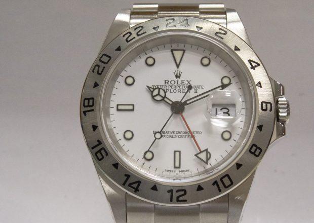 premium selection ad2eb 30fef 16570 | ロレックス エクスプローラーⅡ - オーバーホール・時計 ...