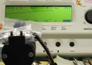 パネライ ラジオミール 修理後の調整・計測