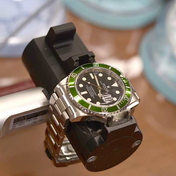 腕時計の精度調整