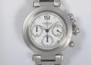 カルティエ パシャCクロノグラフ 修理後のお時計