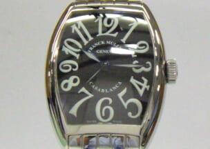 フランクミュラー トノウカーベックスカサブランカ 修理後のお時計