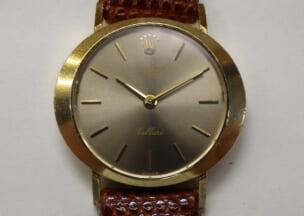 ロレックス チェリーニ 修理後のお時計です。